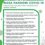 Tata Tertib Pembelajaran Masa Pandemi Covid 19